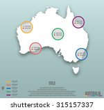 infographic template slide of...