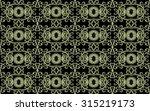 modern baroque decorated ornate ... | Shutterstock . vector #315219173