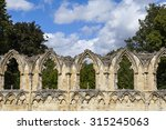 st. marys abbey ruins situated...