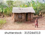 Small photo of Dilla, Ethiopia - February 23, 2015: View at the life at the rural Ethiopia