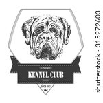 Kennel Club Template. Hipster...