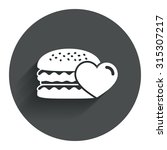 hamburger icon. burger food...