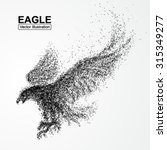 Particle Eagle  Vector...