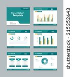 vector template presentation... | Shutterstock .eps vector #315352643