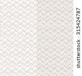vector seamless pattern.... | Shutterstock .eps vector #315424787