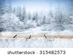 blue forest of winter time    Shutterstock . vector #315482573