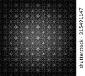 seamless black pattern | Shutterstock .eps vector #315491147