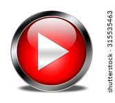 play button isolated | Shutterstock . vector #315535463