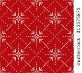 christmas sweater design.... | Shutterstock .eps vector #315575873