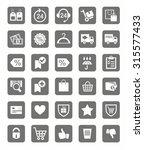 icons  buy  online store ... | Shutterstock .eps vector #315577433