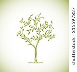 olive tree icon. vector element | Shutterstock .eps vector #315597827
