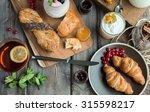 fresh breakfast | Shutterstock . vector #315598217