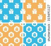 gift box pattern set  simple...