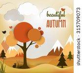 Vector Autumn Landscape...