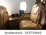 interior of jet airplane | Shutterstock . vector #315719663