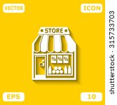 store vector icon | Shutterstock .eps vector #315733703