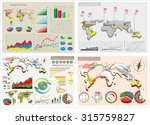 world map and information... | Shutterstock .eps vector #315759827