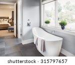 Master Bathroom Interior In Ne...