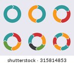circular infographic element... | Shutterstock .eps vector #315814853