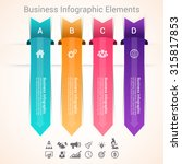modern infographic options... | Shutterstock .eps vector #315817853