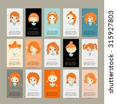 Business Cards With Cute Girls...