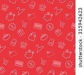 shopping seamless pattern ...   Shutterstock .eps vector #315942623