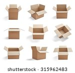collection of  various... | Shutterstock . vector #315962483