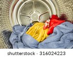 Interior View Of Tumble Dryer...