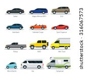 car type and model objects... | Shutterstock .eps vector #316067573
