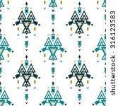 vector geometric background ... | Shutterstock .eps vector #316123583