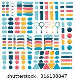 mega collections of... | Shutterstock .eps vector #316138847
