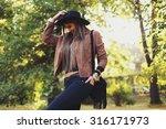 street fashion concept  ... | Shutterstock . vector #316171973