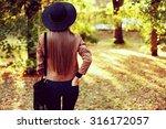 street fashion concept  ... | Shutterstock . vector #316172057