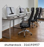 office space with working places | Shutterstock . vector #316193957