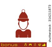 icon man in hat | Shutterstock .eps vector #316211873