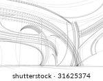 abstract 3d design of modern... | Shutterstock . vector #31625374