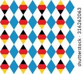 oktoberfest seamless pattern of ... | Shutterstock . vector #316262063