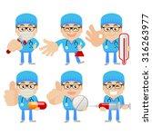 people set   profession  ...   Shutterstock .eps vector #316263977