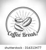 coffee beans  | Shutterstock .eps vector #316313477