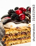 this is a photo of the layered... | Shutterstock . vector #316315463