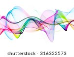 Unusual Abstract Colorful Wave
