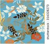 floral seamless pattern  ... | Shutterstock .eps vector #316328273