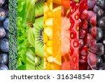 fresh food background.... | Shutterstock . vector #316348547