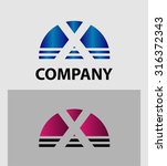 letter x logo icon design...   Shutterstock .eps vector #316372343