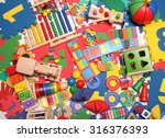 very many kids toys | Shutterstock . vector #316376393