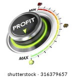 profit button positioned on...