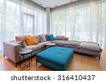 interior of modern living room | Shutterstock . vector #316410437