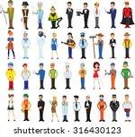 cartoon vector characters of...   Shutterstock .eps vector #316430123