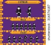 halloween game character for... | Shutterstock .eps vector #316576187