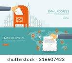 vector illustration. flat... | Shutterstock .eps vector #316607423